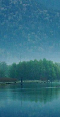 DSC07540_  堤志行「朝の大正池」