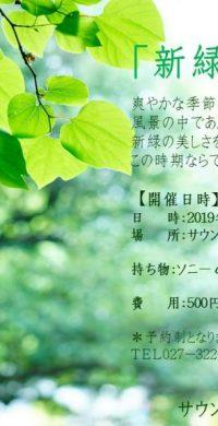2019.5.17新緑を写す
